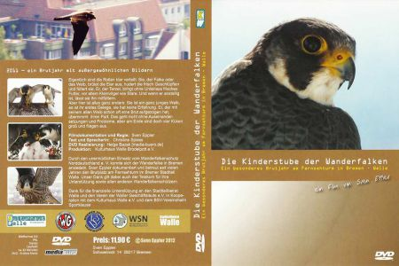 "Cover DVD ""Die Kinderstube der Wanderfalken"""