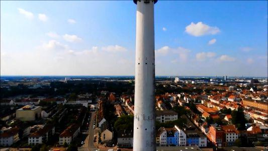 Drohnenflug Falkenrevier Bremen Walle